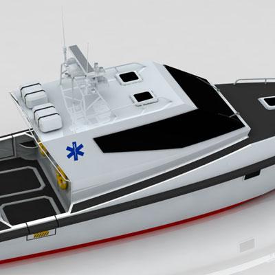 Medical Boat 12m