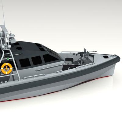 Patrol Escort Boat 11m
