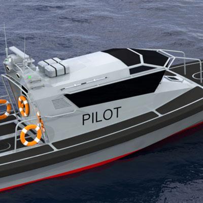 Pilot Boat 13m